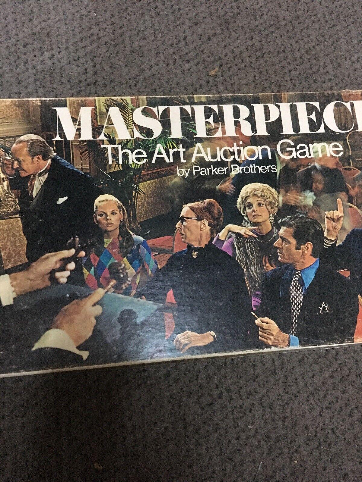 1970  chef-d' œuvre THR Art Auction Jeu par Parker Bros. Complet  meilleure qualité meilleur prix