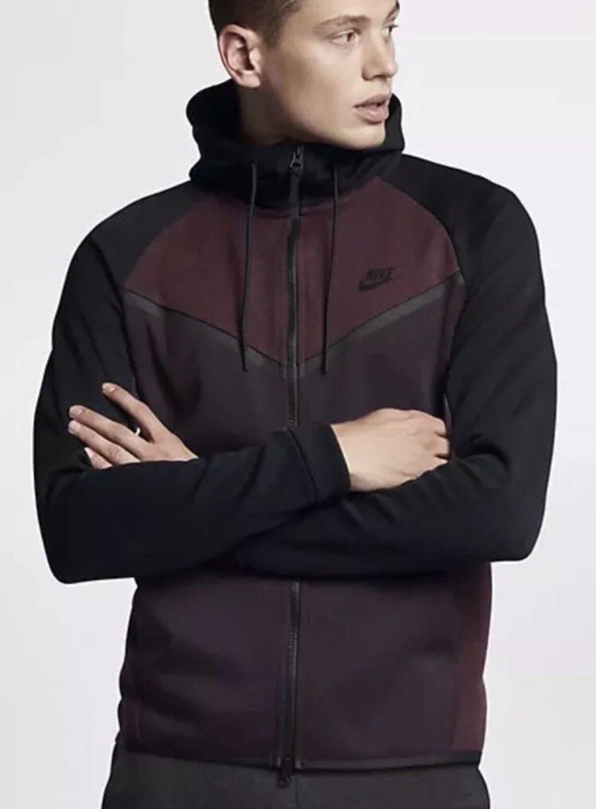 Nike Tech Fleece Hoodie Burgundy | ASOS