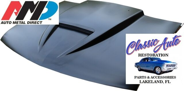 "94-04 Chevy S10 / 95-04 Chevy S10 Blazer Steel 2"" Ram Air Hood *AMD* 300-4194-3"