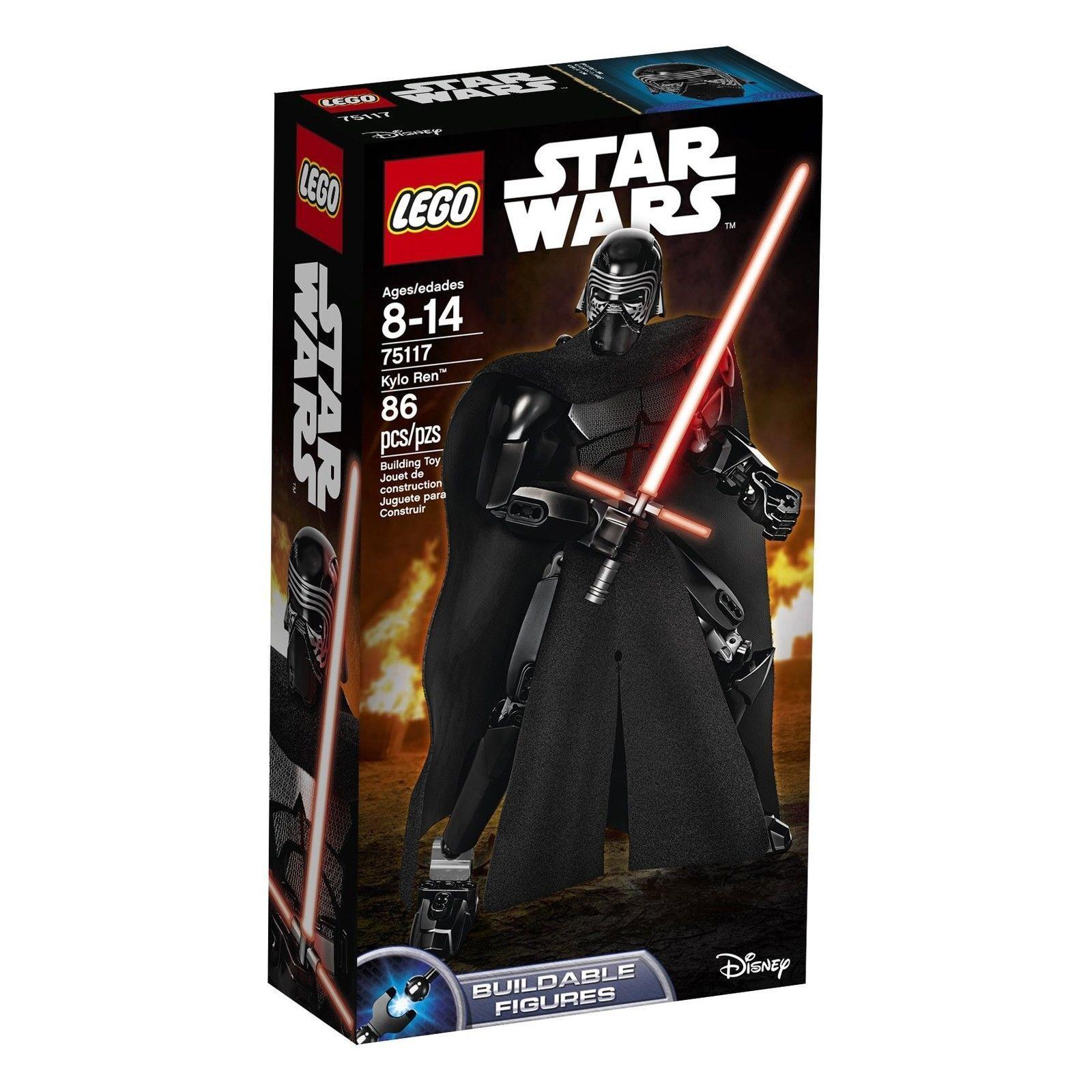 75117 KYLO REN buildable figure star wars lego NEW legos set FORCE AWAKENS