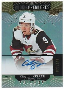 2017-18-Upper-Deck-Trilogy-Level-2-Rookie-RC-SP-Autograph-Auto-Serial-Pick-Any