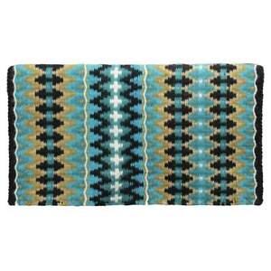 "Tahoe Tack Reya New Zealand Wool Western Show Saddle Blanket 34"" x 38"""