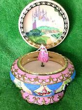 Disney Aurora  Sleeping Beauty Music Jewelry Box Pink