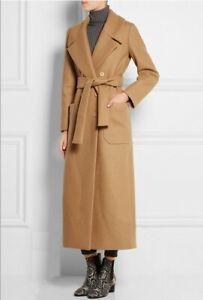 cappotto lungo beige donna