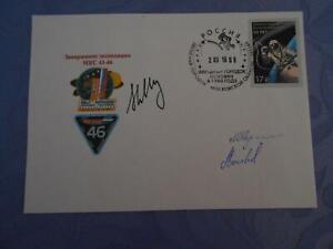 ISS Expedition 43-46 Beleg original Crewsigniert Space