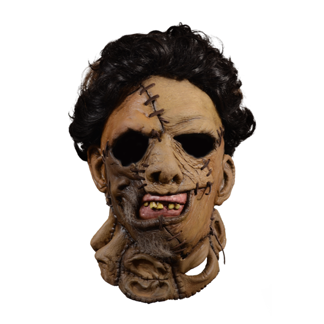 Texas Chainsaw Massacre 2 Leatherface Full Overhead Mask by Trick Or Treat