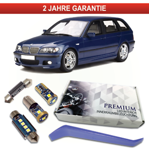 BMW-E46-Touring-LED-Innenraumbeleuchtung-Premium-Set-Canbus-3er-Weiss