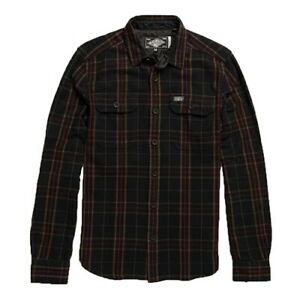 Superdry Men's Merchant Milled L/S Shirt PN: M4000011A