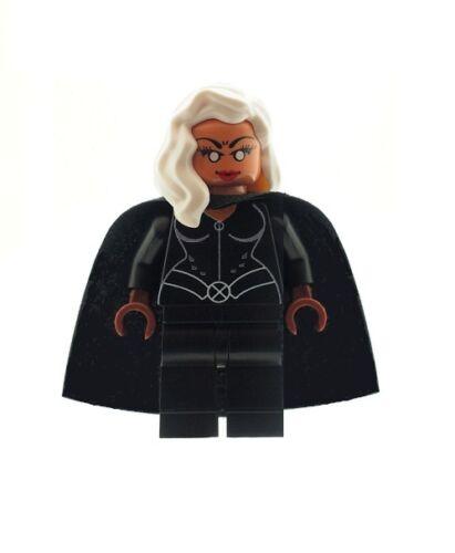 Custom Designed Minifigure Storm Black Suit Superhero Printed On LEGO Parts