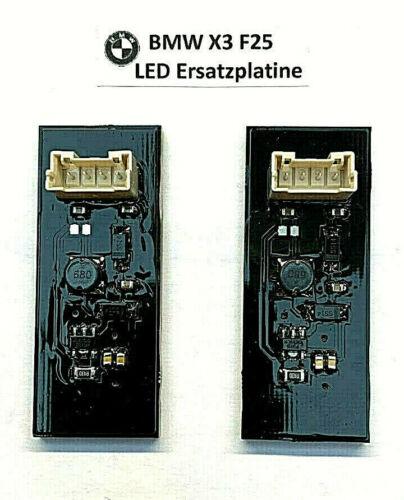 2x bmw x3 f25 Queue Lumière Feu Arrière Plug /& Play carte chez Défectueux DEL Poutre *