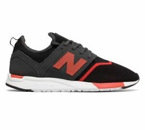 prix compétitif 7ce9c 6f7b0 Details about New Balance 247 Black & Red / MRL247GR / Men's NB MRL247 Mesh  White Knit Pack