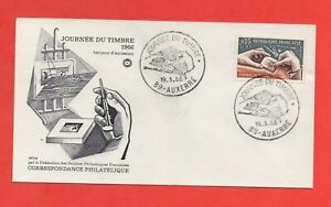 FDC-Journee-De-Sello-1966-La-Grabado-Un-Sello-Correo-383