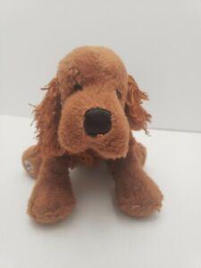 Ganz-Webkinz-Red-Irish-Setter-Dog-Stuffed-Animal-Plush-9-034-No-Code-RETIRED-Sweet