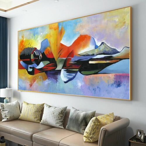 Oil Painting Canvas Poster Print  Wall Art Pictures For Living Room Wall Art