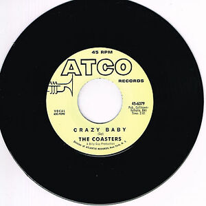THE-COASTERS-CRAZY-BABY-b-w-TAMI-LYNN-I-039-M-GONNA-RUN-AWAY-FROM-YOU-Northern