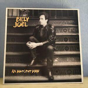 Billy-Joel-Un-Hombre-Inocente-1983-UK-Vinilo-LP-Interior-Excelentes-Condiciones-E