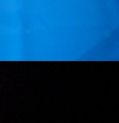"""Aquarium Fish Tank Background H 12"""" picture 2 sided image black blue home 8 new"""