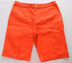 r29 Pantaloncini Lauren donna 12 Active da Ralph Arancione Taglia SCqPvnwS