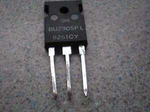 Semiconducteurs, transistors Mosfet BUZ905 P Channel 8amp power audio fet T03 package UK stock