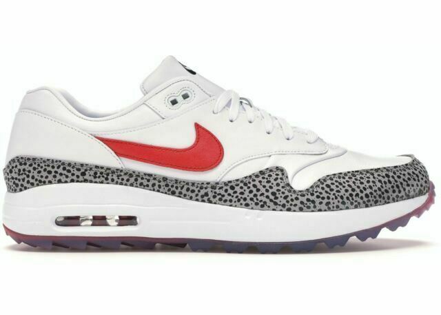 Size 8 - Nike Air Max 1 Golf NRG Habanero Red 2019 for sale online ...