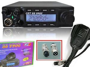 CRT-SUPERSTAR-SS9900-V4-0-RICETRASMITTENTE-24-30Mhz-ALL-MODE-60-WATT-ADATTATORE