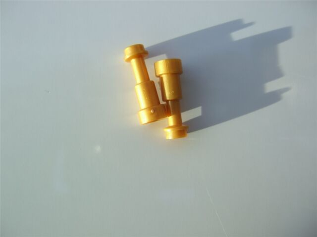 2 x Lego Gold Minifig telescope - 4538126 (Parts & Pieces)