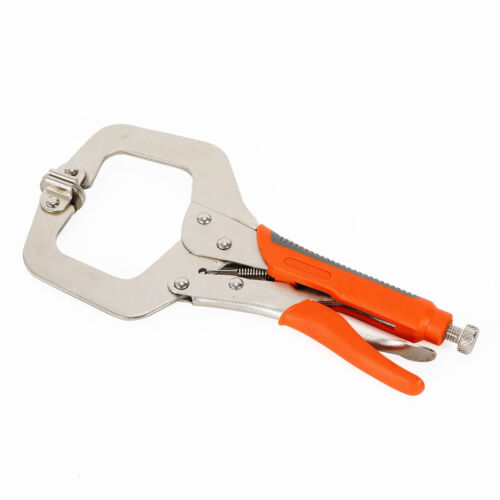 Large  11/'/' 18/'/' Locking C Clamp Welding Clamp with soft grip handle TOP