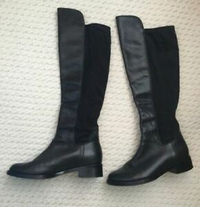 Cole Haan-Black Leather Pull-on-Tall