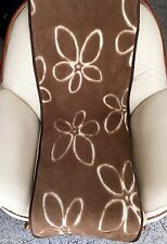 """Sesselschoner  """"Flower"""", Läufer 50x200cm, mit Kamelwolle"""