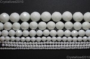 Natural-White-Alabaster-Gemstone-Faceted-Round-Beads-4mm-6mm-8mm-10mm-12mm-16-034