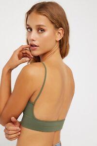 Free-People-Women-039-s-Intimately-Low-Back-Bralette-Seamless-Bra-Sexy-Crop-Top-30