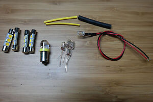 Dial /& Power bulb lights LED Harman Kardon 730 Lamp Kit Replaces Stereo,Meter