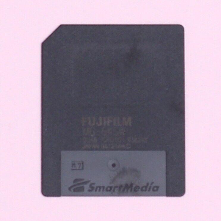 Genuine FujiFilm 64MB 3.3V Smart Media Memory Card For Cameras Synth MG-64SW