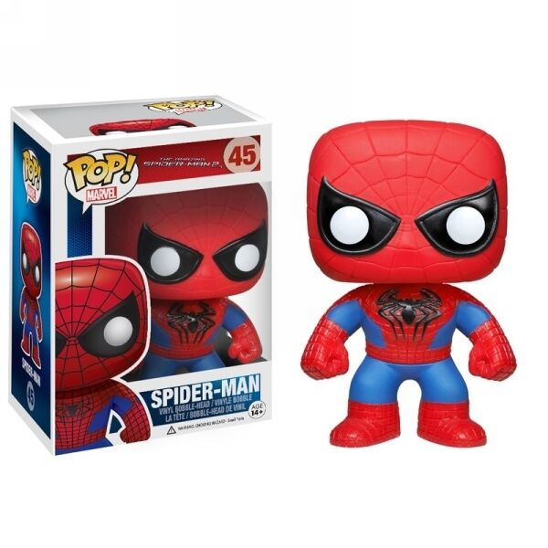 Amazing spider - man 2 spiderman - spider - man marvel - comics pop funko abbildung   1