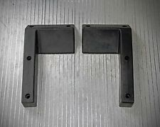 Wheel chocks to secure golf carts, street cars, race cars etc. while in trailer