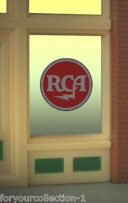 Miller Engineering RCA Animated Neon Window Sign   #9000 Miller Engineering