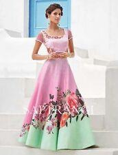 Indian Stylish Designer Bollywood Pink Party Lehengha Choli Anarkali Salwar Suit