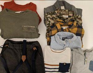 Zara Gap HM Mixed Lot Of 9 Pieces Clothing Boys Baby ...