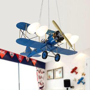 Retro plane aircraft pendant ceiling lamp children kid room light image is loading retro plane aircraft pendant ceiling lamp children kid aloadofball Gallery