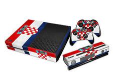 XBOX ONE Skin Design Foils Aufkleber Schutzfolie Set - Croatia Motiv