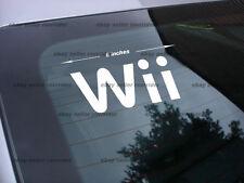 Nintendo Wii decal sticker video game console *fs