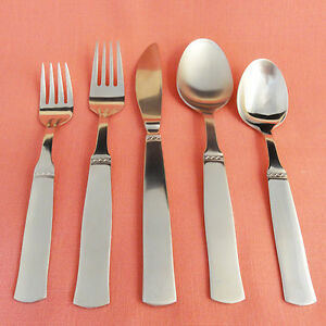 Gense Facette Paddle Butter Spreader Sweden Stainless Flatware 5pc