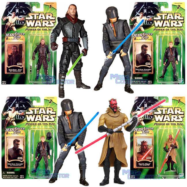Star Wars Power of the Jedi Training Qui-Gon Jinn Obi-Wan Kenobi Darth Maul EU