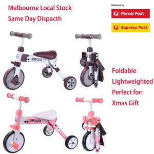 Kiwicool Foldable Lightweight Toddler Ride-on Toy Balance Walker Tricycle Trike