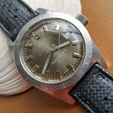 Vintage Alsta Nautoscaph Superautomatic Diver Watch w/All SS Case,Tropic Band