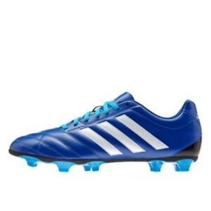 d9e49c639414 Details about Adidas Goletto V FG Firm Ground Blue Mens Boys Football Boots  Trainers