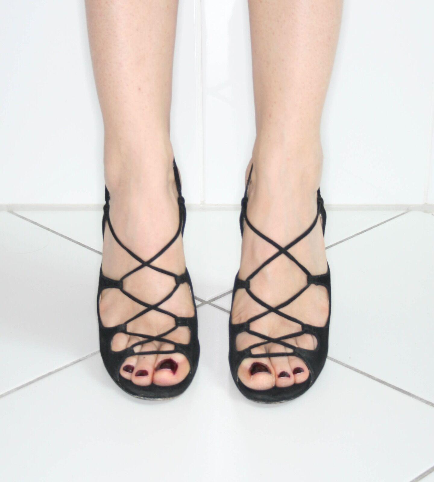 prada high heel suede lace up uk sz. 40 shoe stunning uk up 6.5 156942