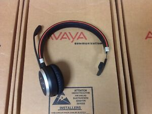 Jabra Evolve 65 Mono Uc Stereo Wireless Bluetooth Headset Ebay