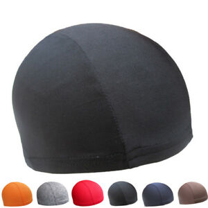 Chosen Dome Cap Stretch Helmet Liner Sports FootBall Biker Beanie Hat Headwrap