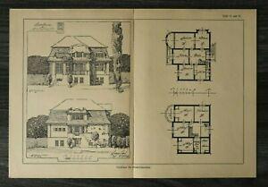 GFA-Blatt-Landhaus-fuer-Gross-Lichterfelde-Berlin-1926-Architektur-Werner-Issel